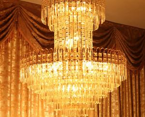欧式客厅水晶灯图片大全