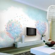 现代简约风格梦幻电视背景墙装饰