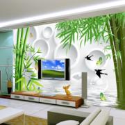 后现代风格3D电视墙饰装饰