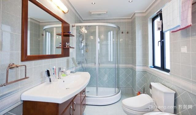 15平米现代简约风格卫生间装修效果图