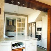 欧式简约风格厨房吊顶装饰