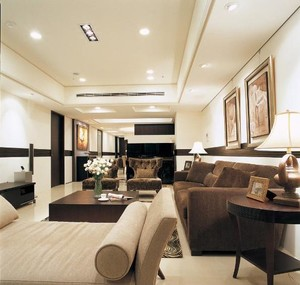 都市生活客厅榻榻米家用沙发装修效果图