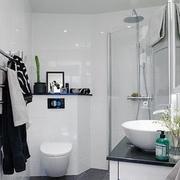 北欧风格清新卫生间淋浴装饰