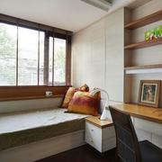 现代风格卧室榻榻米床效果图