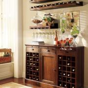 家居厨房小型酒柜