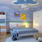 儿童房吊顶装修图