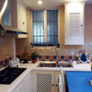 地中海厨房通气窗装饰