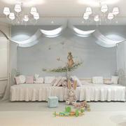 欧式简约白色系儿童房装饰