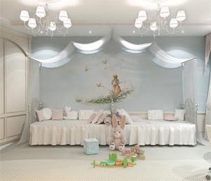 双胞胎儿童房装修效果图