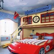 美式简约风格儿童房吊顶装饰