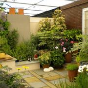 屋顶花园遮阳棚装饰