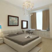 小户型日式原木卧室图例