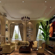 精致的客厅吊顶图