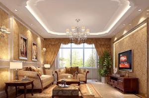 别墅客厅家居装修设计效果图