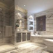 现代豪华别墅卫生间