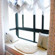 韩式清新风格地台飘窗装饰