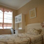 三室一厅简约风格卧室书柜装饰