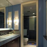 公寓卧室空间蓝色款