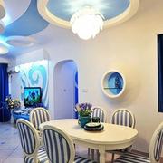 现代餐厅灯光设计
