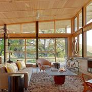 客厅设计飘窗造型图