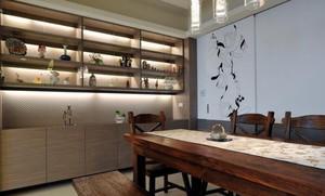 中式简约风格书房储物柜