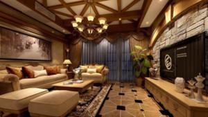 唯美客厅整体设计