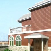 美式大型别墅外墙设计