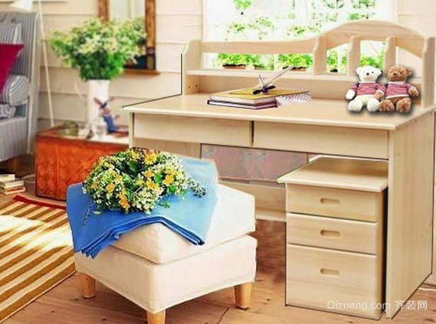 实木儿童书桌图片集锦