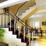 韩式风格清新别墅简约楼梯装饰