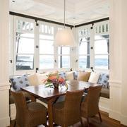 餐厅飘窗造型图