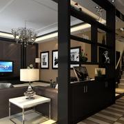 三居室婚房中式设计