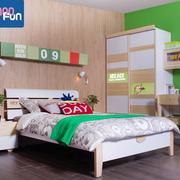 完美现代化实木床