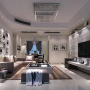 后现代风格奢华客厅沙发装饰
