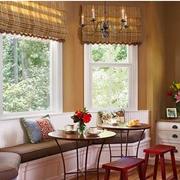东南亚风格客厅飘窗装饰