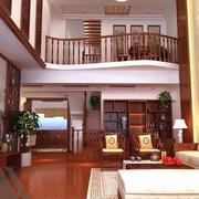 中式风格客厅背景墙装饰