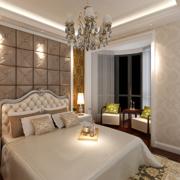 别墅欧式卧室精致灯饰装饰