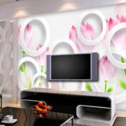 现代简约风格客厅墙饰设计