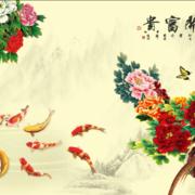 中式风格电视背景墙装饰