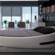 唯美的床铺造型图
