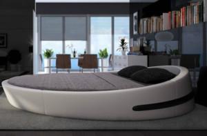 时尚卧室圆床装修效果图