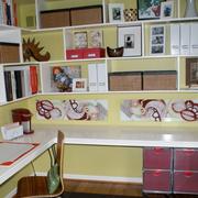转角书柜现代小户型