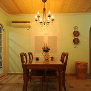 地中海简约风格厨房推拉门装饰