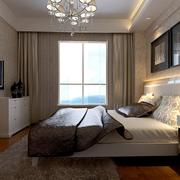 后现代风格深色系卧室灯饰装饰