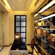 后现代风格奢华书房装饰