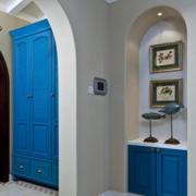 地中海风格玄关拱形门装饰
