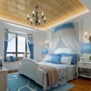 地中海简约卧室墙饰装饰