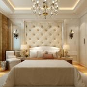 欧式奢华卧室软包墙饰装饰