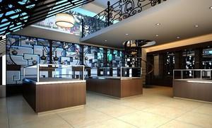 中式高档烟酒店装修效果图