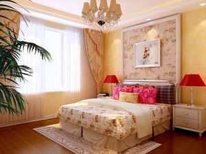 欧式风格卧室床头背景墙装饰