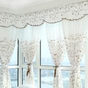 韩式风格客厅清新飘窗装饰